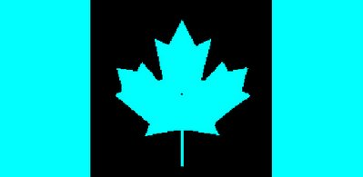 Canada Flag Afterimage | Mighty Optical Illusions